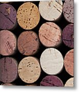 Wine Corks 1 Metal Print by Jane Rix