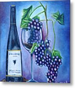 Wine Dance Metal Print