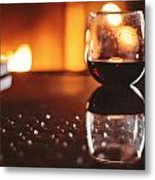 Wine For One Metal Print