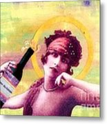 Wine Of Love Metal Print