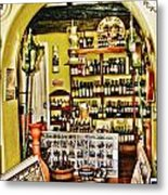 Wine Shop Metal Print