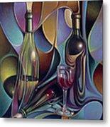 Wine Spirits Metal Print