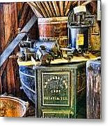 Winemaker - Time For A New Vintage Metal Print by Lee Dos Santos
