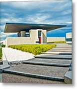 Winery Modernism Metal Print