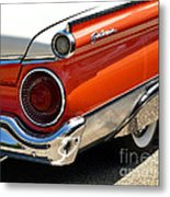 Wing And A Skirt - 1959 Ford Metal Print