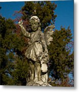 Winged Girl 12 Metal Print