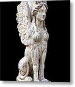 Winged Sphinx Metal Print