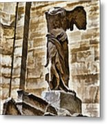 Winged Victory - Louvre Metal Print by Jon Berghoff