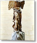 Winged Victory Of Samothrace Metal Print by Conor OBrien