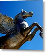Winged Wonder II Metal Print