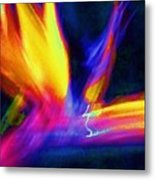 Wings Of Color Abstract  Metal Print