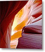 Wink In Lower Antelope Canyon In Page-arizona Metal Print