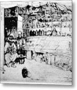 Winkler Ginger Shop, 1922 Metal Print