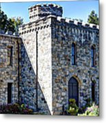 Winnekenni Castle Front View Metal Print