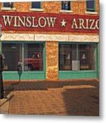 Winslow Arizona Metal Print