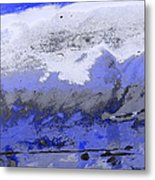 Winter Abstract Metal Print