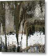 Winter Abstract Metal Print