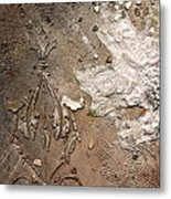 Winter Abstraction Metal Print
