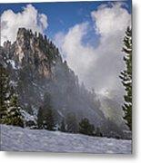Penken Tyrol Alps Winter Landscape Photography Metal Print