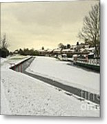 Winter At The Basin  Metal Print