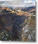 Winter At The Grand Canyon Metal Print