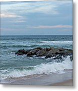 Winter Beach Day Lavallette New Jersey Metal Print