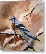 Winter Bird Metal Print