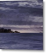 Winter Blues Metal Print by Thomas Young