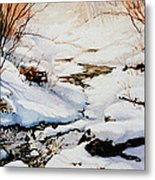 Winter Break Metal Print by Hanne Lore Koehler