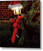 Winter - Christmas - It's Going To Be A Cold Night Metal Print by Mike Savad