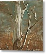 Winter Dance Metal Print by Carrie Viscome Skinner