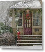 Winter - Dreaming Of A White Christmas Metal Print