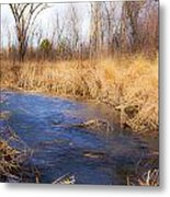 Winter Fade Metal Print