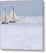 Winter Metal Print by Frits Selier