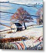 Winter Frost Metal Print by Tilly Willis