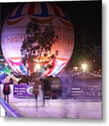Winter Gardens Ice Rink And Balloon Bournemouth Metal Print