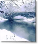 Winter Haiku Metal Print