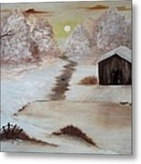 Winter Haven Metal Print