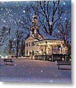 Winter In New England Metal Print