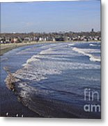 Winter In Newport Metal Print