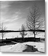 Winter In Roztocze Metal Print