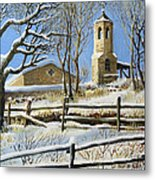 Winter In Stoykite Metal Print by Kiril Stanchev