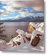 Winter In Tahoe Metal Print