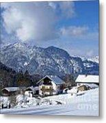 winter in the Bavarian alps 1 Metal Print