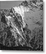 winter in the Bavarian alps 4 Metal Print