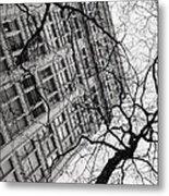 Winter In The City Metal Print