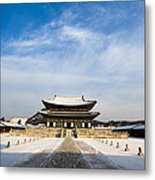Winter In The Palace Metal Print