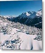 Winter In Tirol Metal Print