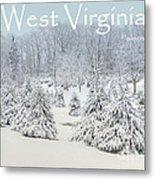 Winter In West Virginia Metal Print