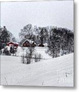 Winter Landscape 5 Metal Print
